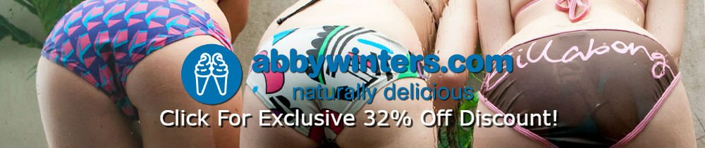 Get our exclusive 32% discount pass for AbbyWinters.com!